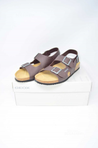 Sandals Man Geoxbrown N°.43 New