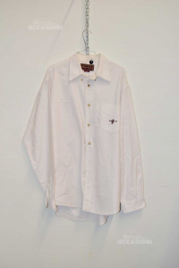 Camicia Uomo Marlboro Classics Tg Xl Colore Bianco