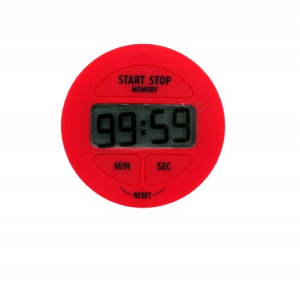 TFA timer digitale cronometro rosso magnetico