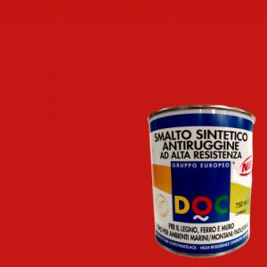 SMALTO SINTETICO ROSSO FUOCO PER INTERNO ED ESTERNO