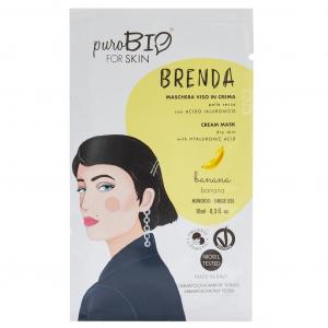 Puro Bio, BRENDA Maschera Viso in Crema Pelle Secca - BANANA