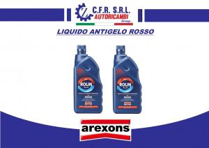 2PZ LIQUIDO ANTIGELO PROTETTIVO RADIATORI PLURISTAGIONALE AREXONS 8010 ROSSO