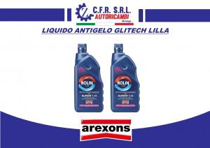 2 PZ LIQUIDO ANTIGELO PROTETTIVO RADIATORI PLURISTAGIONALE AREXONS 8017 GLITECH 1.13