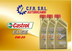3PZ OLIO LUBRIFICANTE CASTROL EDGE 0W-20