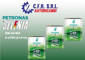 3PZ (6LITRI) OLIO LUBRIFICANTE SELENIA WR FORWARD 0W-20 DA 2 LITRI