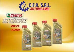 4PZ OLIO LUBRIFICANTE CASTROL EDGE 0W-20