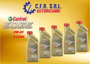 5PZ OLIO LUBRIFICANTE CASTROL EDGE 0W-20