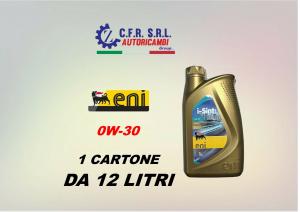 12PZ OLIO LUBRIFICANTE ENI I-SINT 0W-30