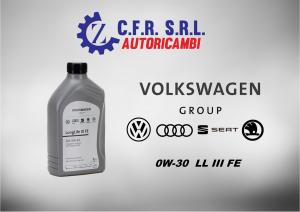 OLIO LUBRIFICANTE VW 0W-30 ORIGINALE
