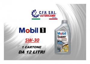 12PZ OLIO LUBRIFICANTE MOBIL SUPER 3000 5W-30 FORMULA XE