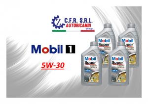 4PZ OLIO LUBRIFICANTE MOBIL SUPER 3000 5W-30 FORMULA XE