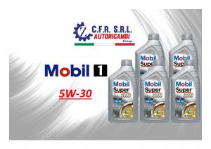 5PZ OLIO LUBRIFICANTE MOBIL SUPER 3000 5W-30 FORMULA XE