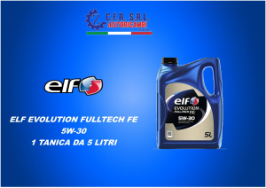 OLIO LUBRIFICANTE ELF EVOLUTION FULLTECH FE 5W-30 5 LITRI