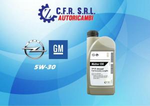 OLIO LUBRIFICANTE OPEL GM 5W-30 DEXOS 2