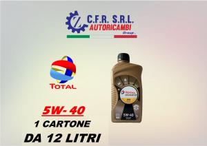 12PZ OLIO LUBRIFICANTE TOTAL QUARTZ 9000 5W-40