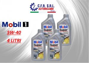 4PZ OLIO LUBRIFICANTE MOBIL SUPER 3000 5W-40