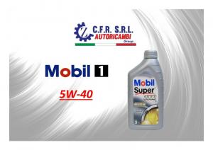 OLIO LUBRIFICANTE MOBIL SUPER 3000 5W-40
