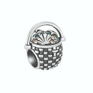 Chamilia Charm in argento 925 seashell basket 2025-2452