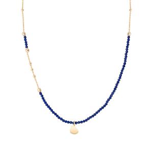 Collana Argento e cristalli blu Amen
