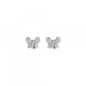 Orecchini Argento e zirconi bianchi Amen