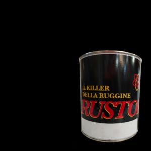 SMALTO SINTETICO ANTIRUGGINE RUSTOP NERO LUCIDO 750ML