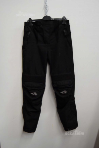 Moto Pantalone Da Uomo Neri Spyke Tg.M