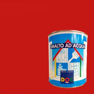 SMALTO ALL' ACQUA ROSSO FUOCO PER INTERNO ED ESTERNO DOC
