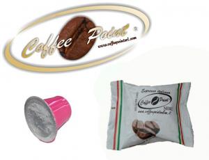Caffè in Capsule compatibili Nespresso, confezione 100 capsule, italiano cremoso Coffee Point Nera-2