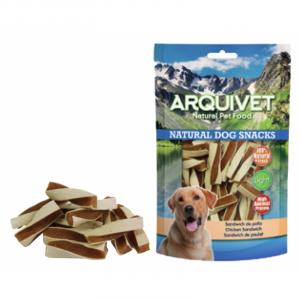 Arquivet  Snack per cane SANDWICH DI POLLO  100gr