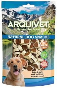 Arquivet Snack naturale per cani Sushi anatra 100gr