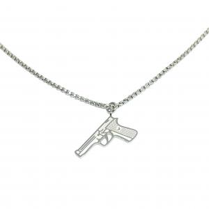 COLLANA GUN ORO O ARGENTO