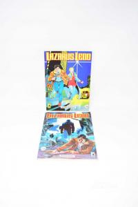 FUMETTI LAZARUS LEDD NUMERO 1 E 2 ANNO 1993