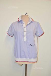 Camicia Donna Polo Lilla Dsquared Tg