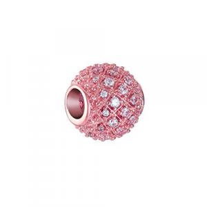 Chamilia Blush Alight con swarovski bianchi in argento rosè 2025-2521