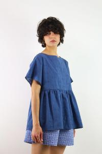 MAGLIA NUVOLA SANGALLO BLUE