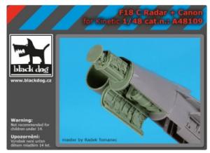 F 18 C radar+canon