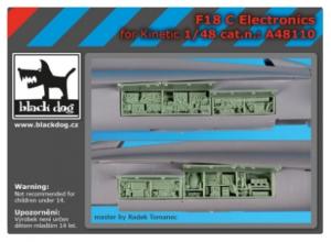 F-18 C electronic