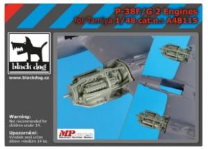 P-38 F-G engines
