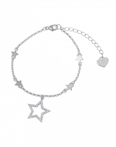 OSA JEWELS - Bracciale Argento MAYROSE con stella
