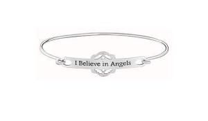 Chamilia Bracciale rigido in argento 925 I believe in angels 1010-0471