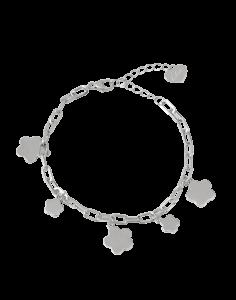 OSA JEWELS - Bracciale Argento MAYROSE con fiori