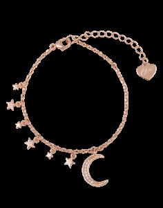 OSA JEWELS - Bracciale Argento MAYROSE con luna e stelle
