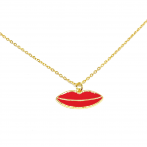 COLLANA SMACK RED