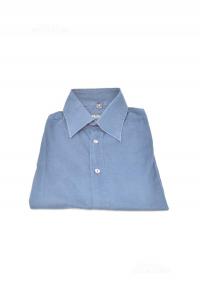 Camicia Uomo Blu Dolce & Gabbana Tg 40 Imitazione