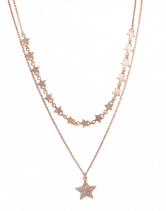 OSA JEWELS - Collana Argento MAYROSE con stelle