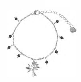 OSA JEWELS - Bracciale Argento MAYROSE con albero della vita