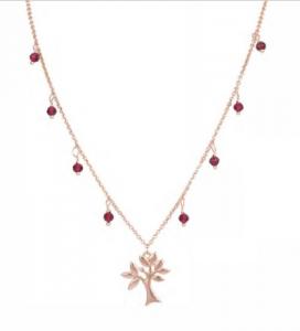 OSA JEWELS - Collana Argento MAYROSE con albero della vita