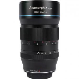 Lente anamorfica 35mm f/1.8 1.33x (SR35-M Attacco Micro 4/3)