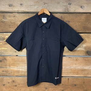 Camicia Gramicci A Mezza Manica Sheel Camp Shirts Black