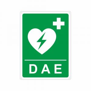 Cartello DAE Defibrillatore